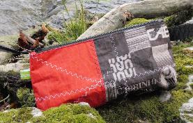 Geschenke für Kiter, Wind-Beutel, Waschbeutel für Kiter, Kulturbeutel für Kiter, Tasche für Kiter