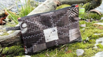 Geschenke für Kiter, Wind-Beute, Upcycling Kite,l