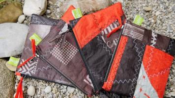 Geschenke für Kiter, Wind-Beutel, Kite-Tasche, Taschen aus Kite-Tuch, Geschenke für Kitesurfer