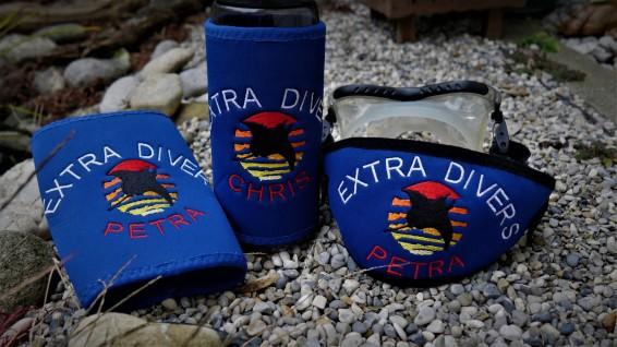 Maskenband, Maskenbänder, individuelle Maskenbänder, Geschenke für Taucher, Wind-Beutel