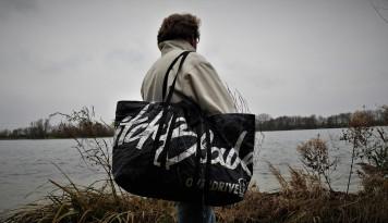 XXL-Strandtasche, Tasche für Kiter, Strandtasche, Weekender, Upcycling Taschen, Wind-Beutel