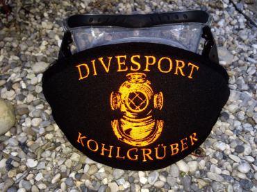 Geschenke für Taucher, Maskenband, Maskenbänder, individuelle Maskenbänder, Maskenband für Taucher, Wind-Beutel, Maskenband mit Logo, geschenke für Taucher