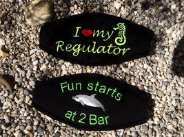 Geschenke für Taucher, Maskenband, Maskenbänder, individuelle Maskenbänder, Maskenband für Taucher, Wind-Beutel, Maskenband mit Logo