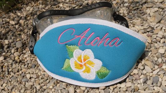 Maskenband, Maskenbänder, individuelle Maskenbänder, Geschenke für Taucher, Maskenband mit Logo, Maskenband mit Namen, Wind-Beutel