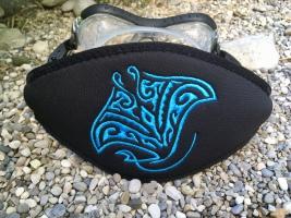 Wind-Beutel, individuelle Maskenbänder, Maskenband mit Logo, Maskenband mit Namen, Wind-Beutel, Geschenke für Taucher, Maskenband, Maskenbänder