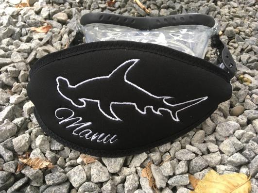 Wund-Beutel, individuelle Maskenbänder, Maskenband, Maskenbänder, Maskenband mit Logo, Geschenke für Taucher, Maskenband mit Namen