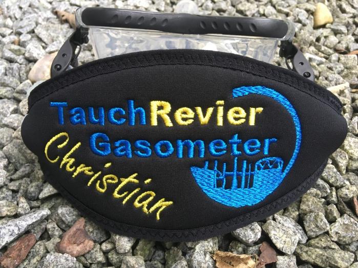 Wind-Beutel, Maskenband, Maskenbänder, individuelle Maakenbänder, Geschenke für Taucher