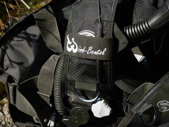 Neopren Maskenband, Maskenband Tauchen, Marker für Jaket