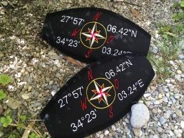 Maskenband, Maskenbänder, individuelle Maskenbänder, Maskenband mit Namen, Maskenband mit Logo, Wind-Beutel, Geschenke für Taucher,
